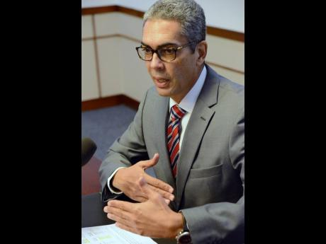 Richard Byles, governor of the Bank of Jamaica.