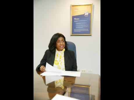 Antoinette McKain, CEO of Jamaica Deposit Insurance Corporation.