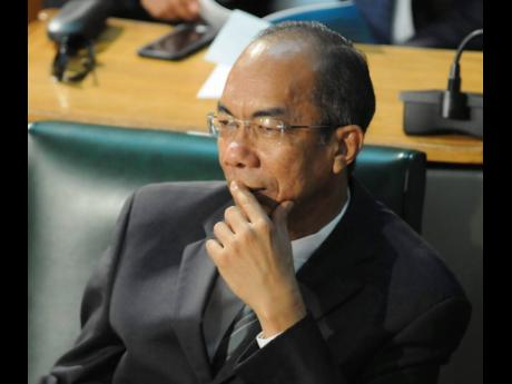 National Security Minister Dr Horace Chang.