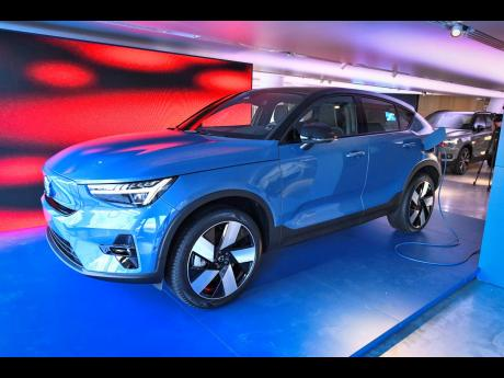 The new electric car model Volvo C40 Recharge is presented in Stockholm, Sweden, on Tuesday, March 2. Calls have come from stakeholders in Jamaica's energy and auto industry for preferential rates to increase buy-in of electric-powered vehicles.