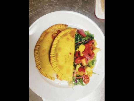 3. Chef Pinder sells beef, chicken, vegetable and also the gluten-free patties.