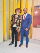 Music legend Big Youth and his son, attorney-at-Law Isat Buchanan. As he celebrates his father's birthday, Isat wished Big Youth continued health and strength.